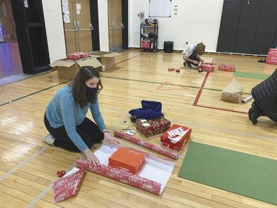 CCS students donate new shoes to those in need