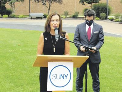 SUNY Oneonta leader defends actions before county board