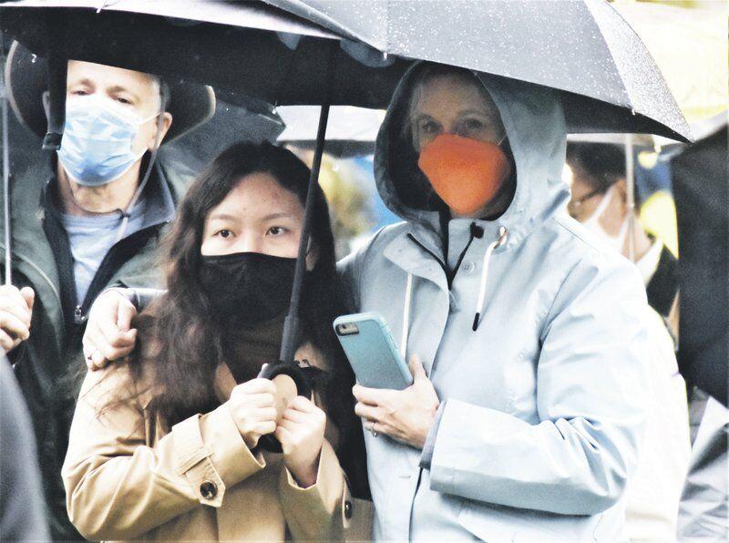 Hundreds take on anti-Asian racism