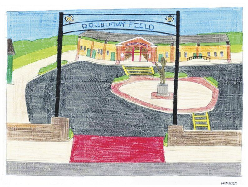 Art sale to support restoration of historic Doubleday Field