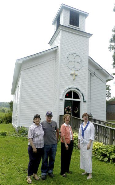 Schuyler Lake church rises from the ashes