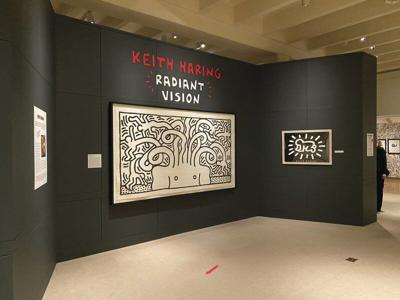 Haring exhibit extended at Fenimore