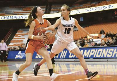 Coop girls top rival Mounties for section title