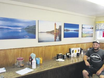Diner becomes gallery for Coop photographer