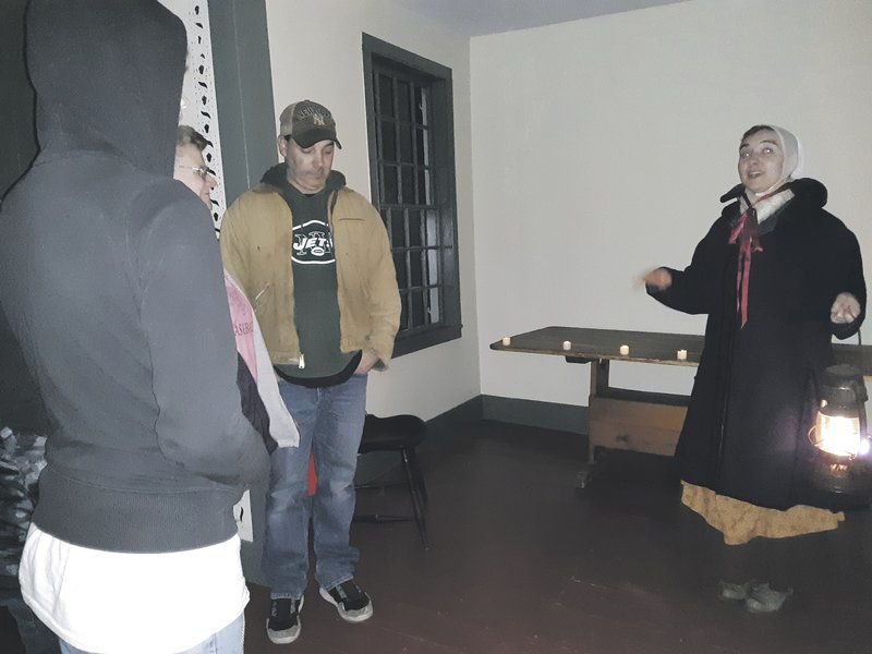 Museum ghost tours make for spooky fun