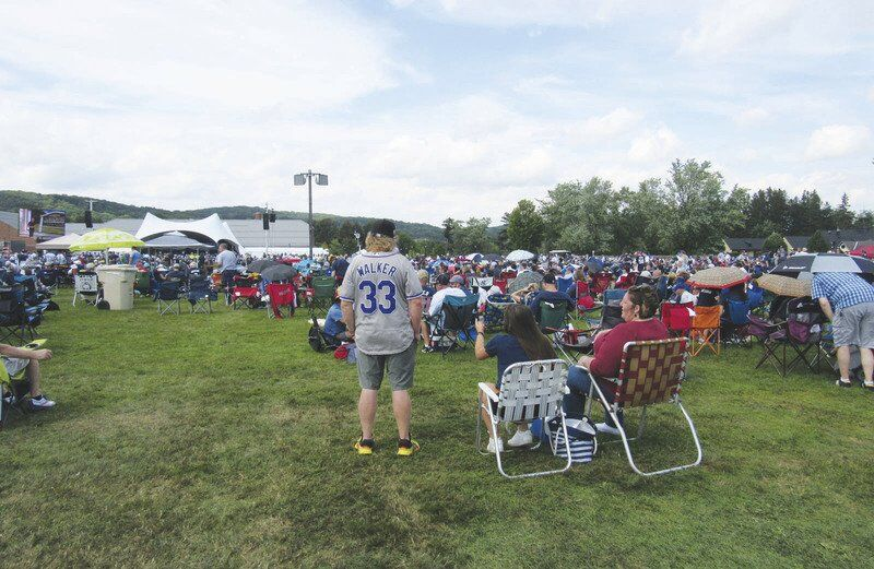 Induction draws fans from across U.S. to Cooperstown