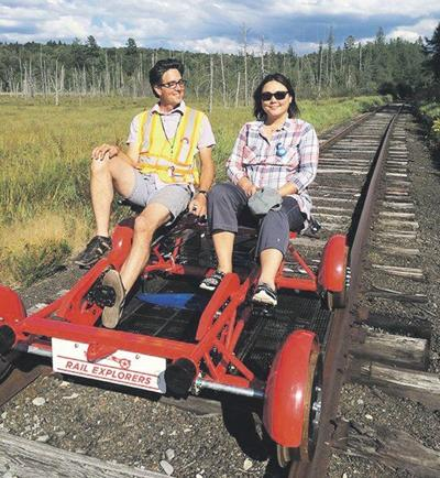 Company offers leisurely new way to ride the local rails