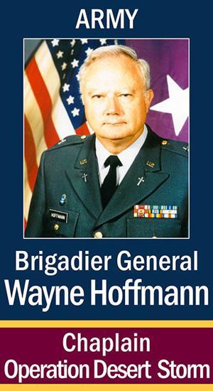 Chaplain (BGen) Wayne W. Hoffmann, AUS (Ret.)