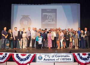 Coronado's Avenue Of Heroes ...