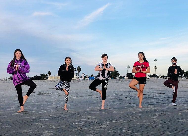 Introducing Beach Yoga ...