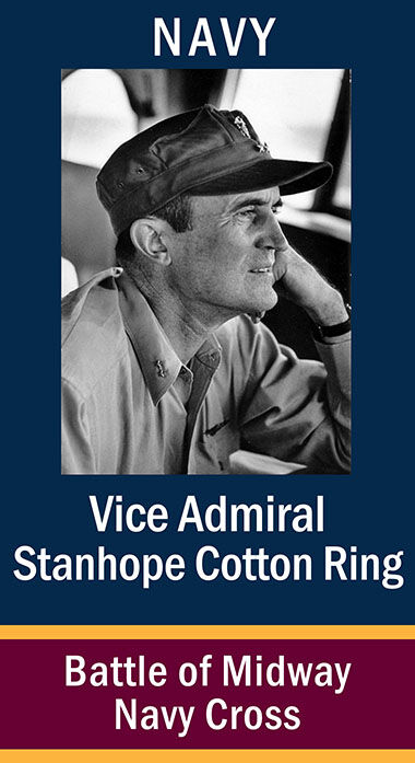 VAdm. Stanhape Cotten Ring, USN ...