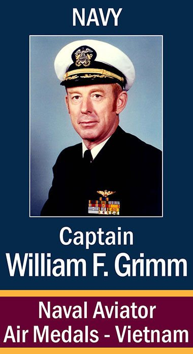 Captain William F. Grimm, USN