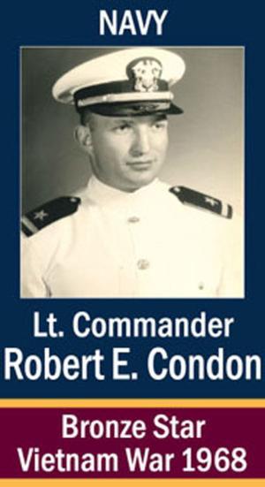 Lieutenant Commander Robert Condon
