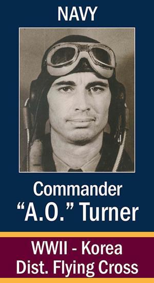 """Commander Arcia Ola """"A.O."""" Turner"""