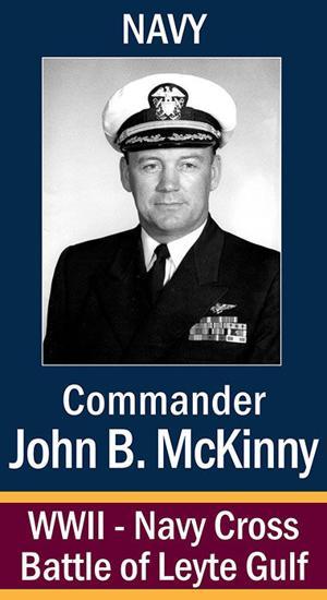 Commander John Blackball McKinny, USN ...