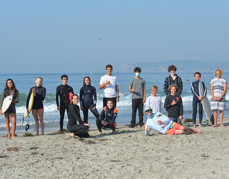 The CHS Surf Team ...