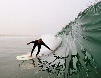 Coronado Surfers Unfazed ...