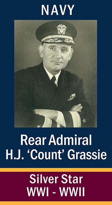 RAdm. Herbert John Grassie, USN