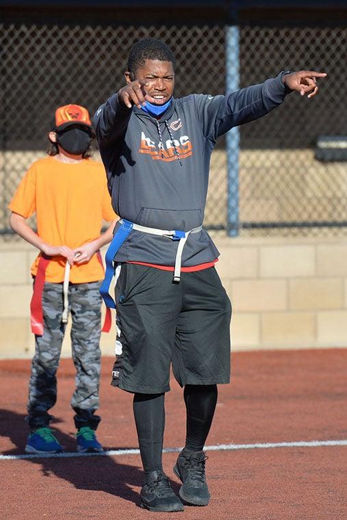 Coach Andre Murphy ...
