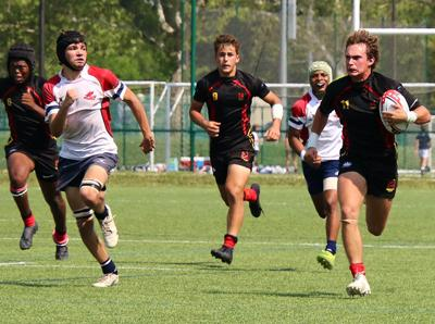 Playing Rugby With The Mustangs ...