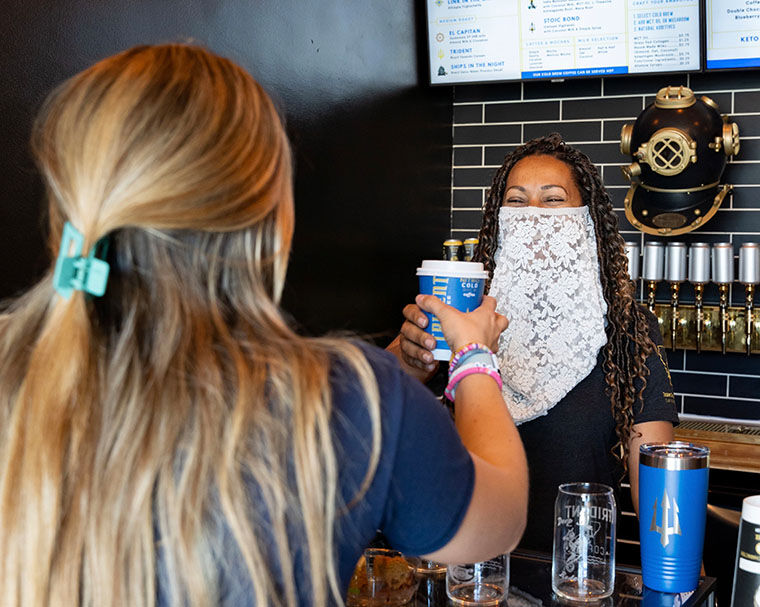 Trident Coffee Prepares To Open On Orange Avenue