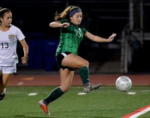 <p>Emily Hunter, a junior, has contributed to the Islander Girls Soccer Team's winning season thus far. The Islanders return home Tuesday, Jan. 21 to host University City. That game will begin at 5:15 p.m.</p>