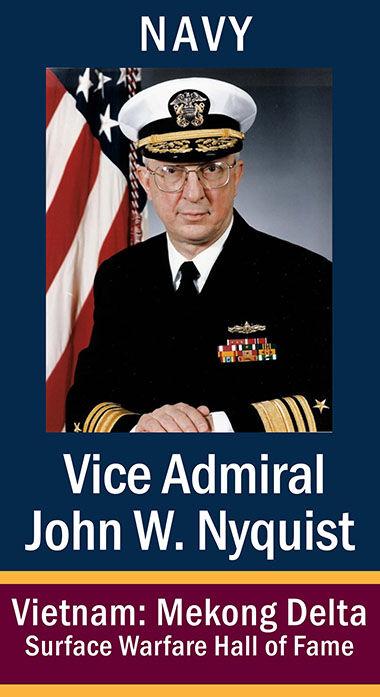 VAdm John Walfrid Nyquist, USN