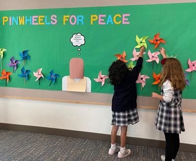 Pinwheels For Peace ...