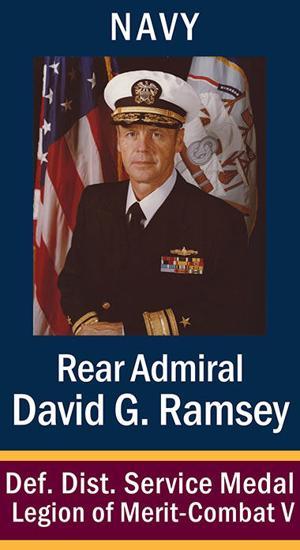 RADM David G. Ramsey, USN