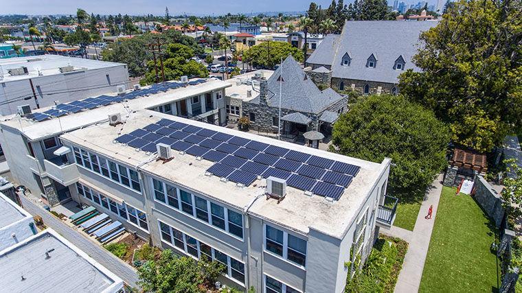 Christ Church Has Gone Solar     - Coronado Eagle &