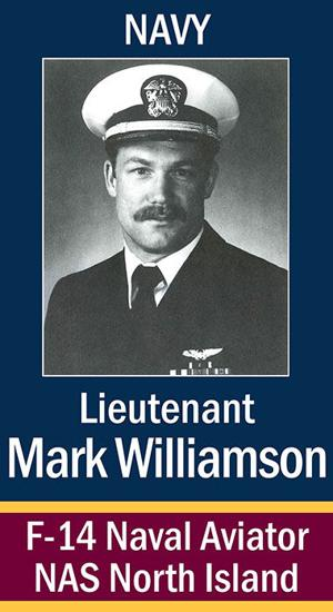Lt. Mark Williamson, USN