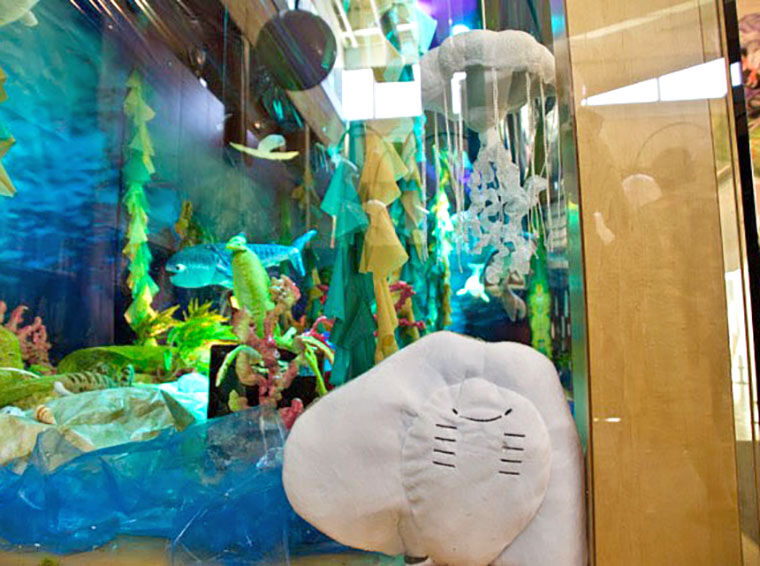 Ocean Diorama At The Library ...