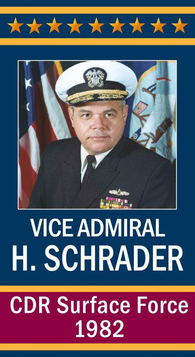 Vice Admiral Harry Schrader, USN