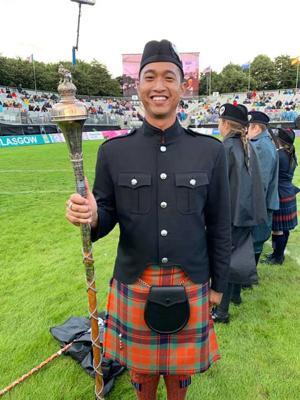 World Drum Major Champion ...