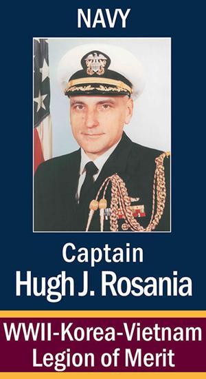 Capt. Hugh J. Rosania, USN
