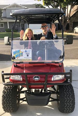 Win A New Electric Golf Cart ...