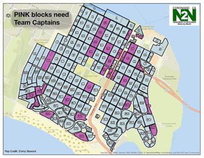 Neighbor To Neighbor Block Map
