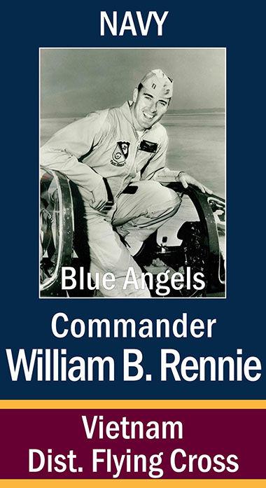 CDR William B. Rennie, USN