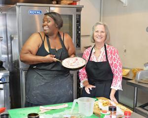 Chef Pamela Jones ...