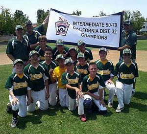 The Coronado Little League Intermediate League All-Stars marched through their competition in District 32 undefeated to win the title.