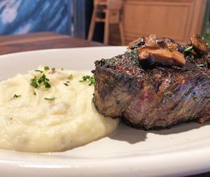 NY Steak And Smashed Potatoes