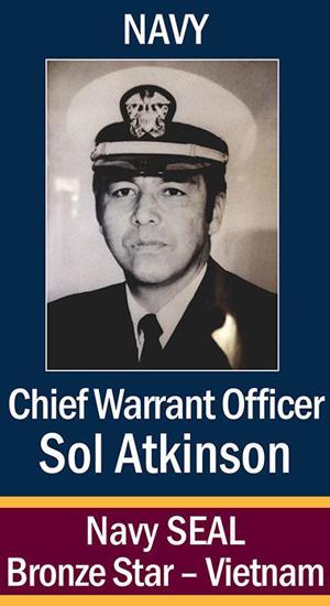 CWO Solomon Atkinson, USN ...