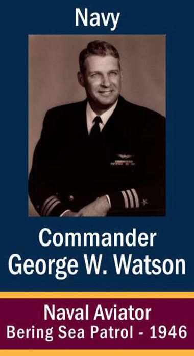 Cmdr. George William Watson, USN