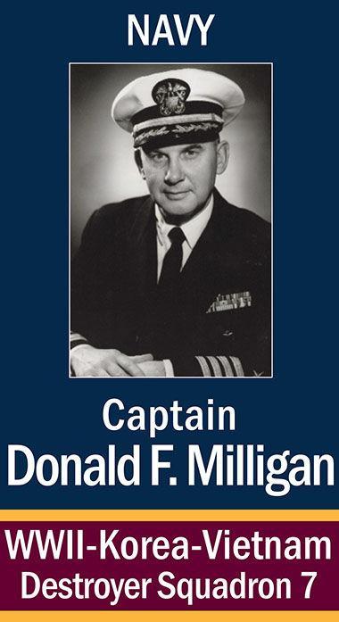 Captain Donald F. Milligan, USN