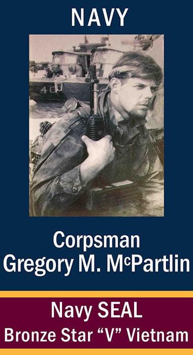 Corpsman Gregory M. McPartlin, USN