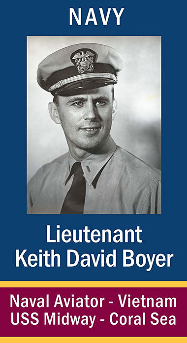 Lieutenant Keith David Boyer