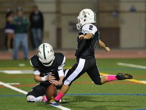 <p>Senior placekicker Nadia Quijano had a big game Friday night, kicking six consecutive extra point conversions as the Islanders defeated Clairemont 52-7. Friday night, Coronado hosts the Crawford Colts at 6:30 p.m. for the annual Islander Homecoming Game.</p>