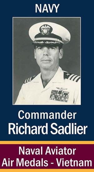 Commander Richard Sadlier, USN
