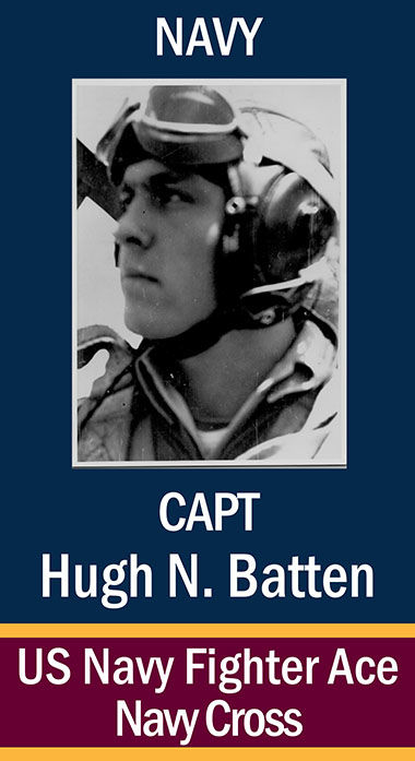 Capt. Hugh Nash Batten, USN ...
