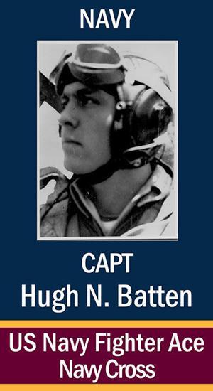 Capt. Hugh Nash Batten, USN ...